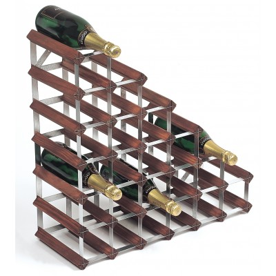 27 Bottle Traditional Wooden Understair Wine Rack