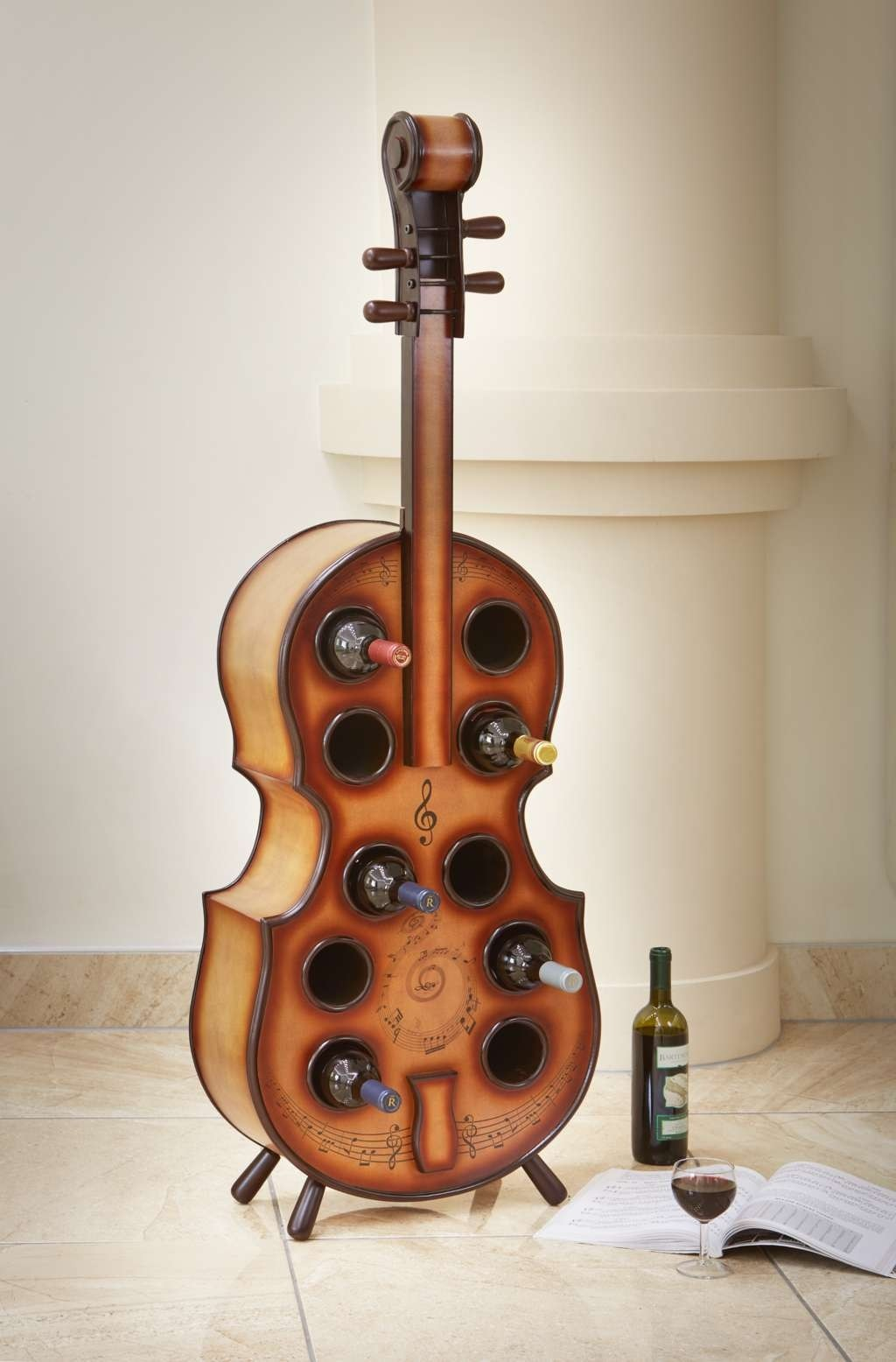 Leather Phone Case >> 10 Bottle Cello Wine Rack