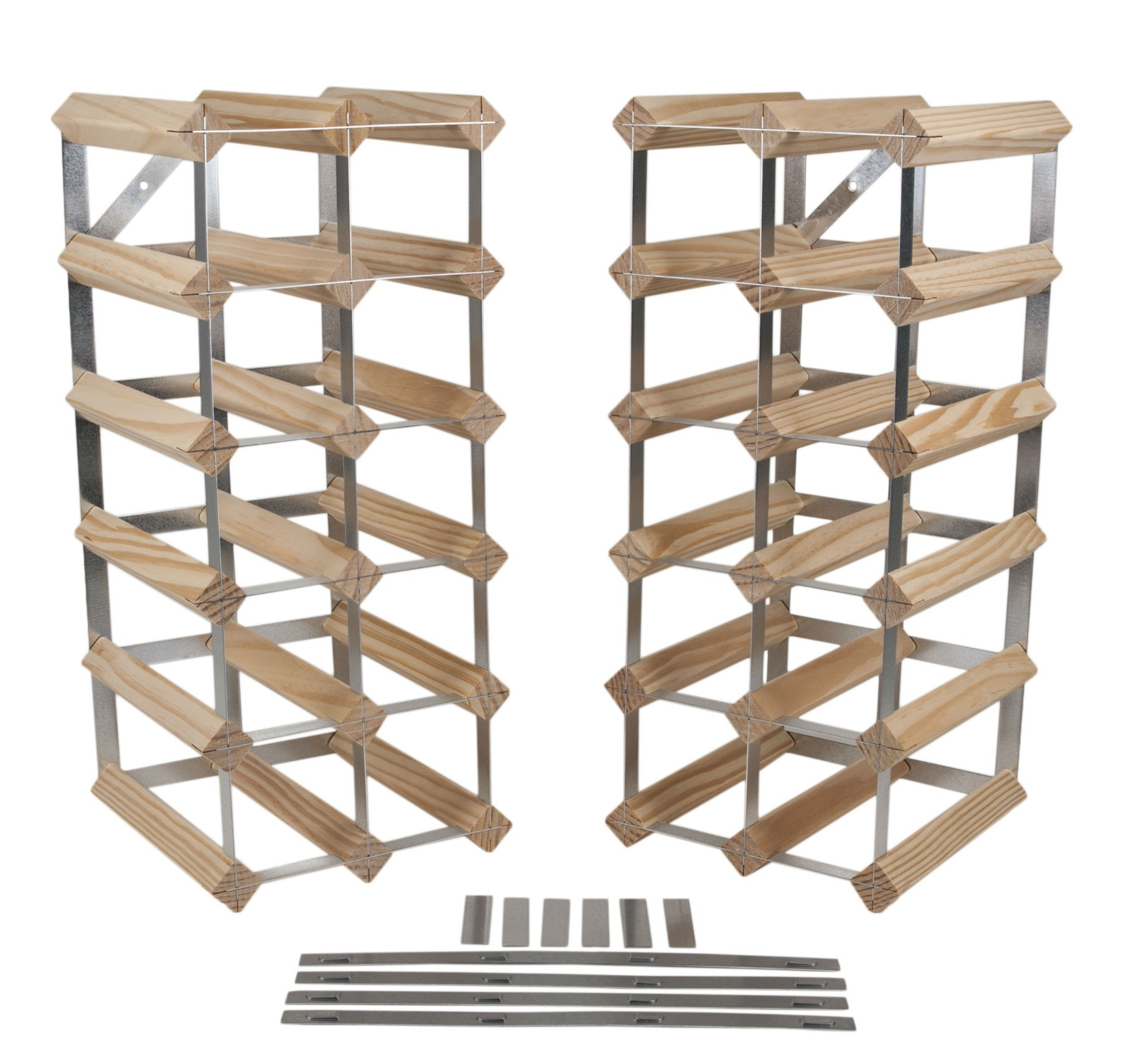 wall to build white glass image a racks rack how of wine wood wooden