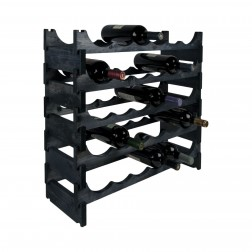 30 Bottle Pine Modular Wine Rack 6x5