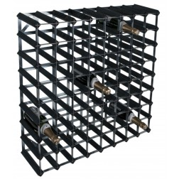72 Bottle Traditional Wooden Wine Rack 8x8