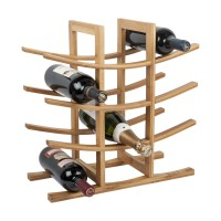 12 Bottle La Pagode Wine Rack