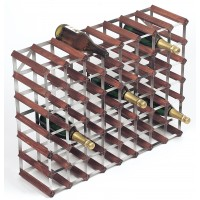56 Bottle Traditional Wooden Wine Rack 8x6