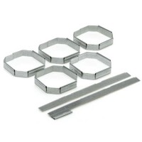 5 Galvanised Steel Clips Joining System