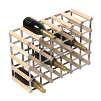 30 Bottle Traditional Wooden Wine Rack 6x4