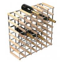 42 Bottle Traditional Wooden Wine Rack 6x6