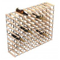 90 Bottle Traditional Wooden Wine Rack 10x8